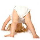 De spieren van een baby