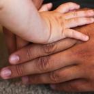 Babyhanden: vastpakken en loslaten